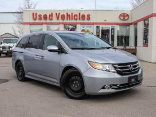 Used 2016 Honda Odyssey TOURING | LEATHER | NAV | DVD | BLIND SPOT for sale in North York, ON