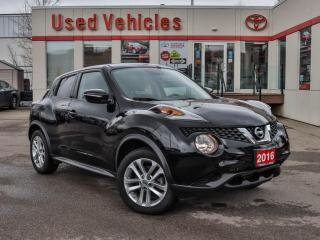 Used 2016 Nissan Juke 5dr Wgn CVT SV AWD for sale in North York, ON