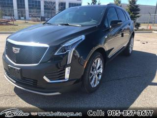 New 2020 Cadillac XT5 Sport - Navigation - Leather Seats - $419 B/W for sale in Bolton, ON