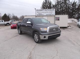 Used 2011 Toyota Tundra 4X4 PLATIUM for sale in Elmvale, ON