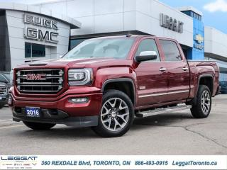 Used 2016 GMC Sierra 1500 SLE  - Touch Screen -  Bluetooth for sale in Etobicoke, ON