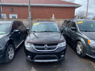 Used 2011 Dodge Journey **AWD**R/T**LEATHER**XM RADIO** for sale in Hamilton, ON