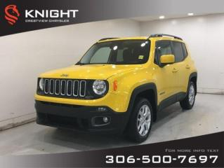 Used 2016 Jeep Renegade North 4x4   Heated Seats   Remote Start for sale in Regina, SK