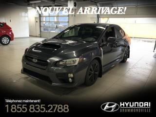 Used 2015 Subaru WRX SPORT PACK + GARANTIE + TOIT + CAM. + WO for sale in Drummondville, QC
