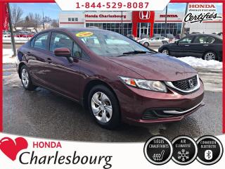 Used 2015 Honda Civic LX AUTOMATIQUE **UN PROPRIÉTAIRE** for sale in Charlesbourg, QC