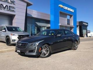 Used 2014 Cadillac CTS Sedan Vsport RWD for sale in Barrie, ON