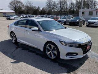 Used 2018 Honda Accord Sedan Touring 4dr FWD Sedan for sale in Brantford, ON