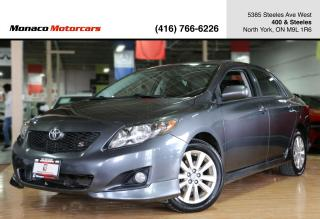Used 2010 Toyota Corolla S - SUNROOF|REMOTE START|ALLOYS|POWER WINDOWS for sale in North York, ON