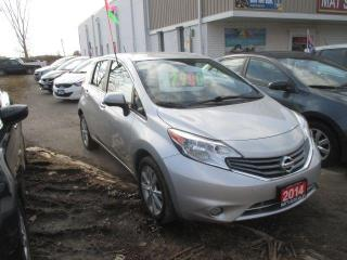 Used 2014 Nissan Versa Note SL NO ACCIDENTS for sale in Waterloo, ON