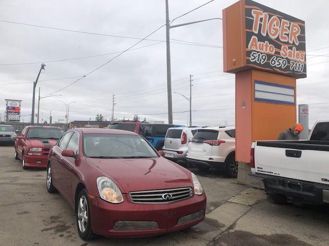 2005 Infiniti G35 Luxury**LEATHER**SUNROOF**RIMS**AWD**AS IS SPECIAL