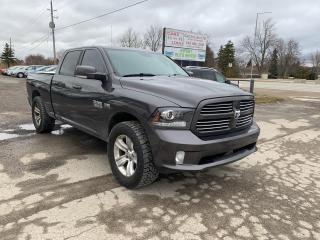 Used 2014 Dodge Ram 1500 Sport 4X4 Fully loaded for sale in Komoka, ON