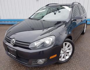 Used 2013 Volkswagen Golf Wagon Highline *TDI DIESEL* for sale in Kitchener, ON
