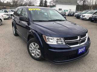 Used 2017 Dodge Journey Canada Value Pkg for sale in St Catharines, ON