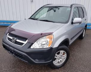 Used 2003 Honda CR-V LX 4WD *ONLY 105,000 KM* for sale in Kitchener, ON