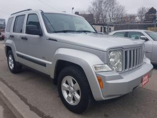 Used 2009 Jeep Liberty Sport - EXTRA CLEAN - 4X4 - SUNROOF - AUX - ALLOYS for sale in Scarborough, ON