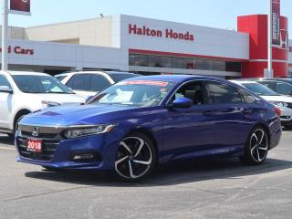 Used 2018 Honda Accord SPORT 1.5L|NO ACCIDENTS|SERVICE HISTORY ON FILE for sale in Burlington, ON