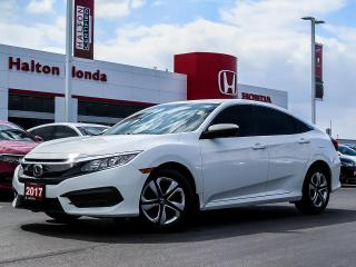 Used 2017 Honda Civic LX|NO ACCIDENTS|SERVICE HISTORY ON FILE for sale in Burlington, ON