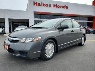 Used 2011 Honda Civic DX-G Sedan 5-Speed AT for sale in Burlington, ON