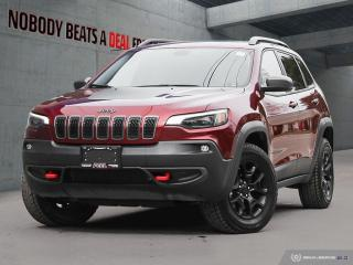 Used 2019 Jeep Cherokee GPS*Rem Start*Cam*Heated Seats/Whl* for sale in Mississauga, ON
