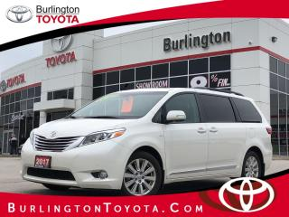 Used 2017 Toyota Sienna XLE ALL WHEEL DRIVE for sale in Burlington, ON