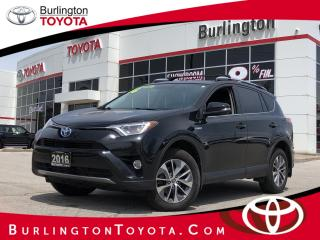 Used 2016 Toyota RAV4 Hybrid XLE for sale in Burlington, ON