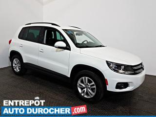 Used 2016 Volkswagen Tiguan Trendline AIR CLIMATISÉ - Sièges Chauffants - for sale in Laval, QC