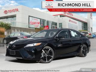 New 2020 Toyota Camry XSE  -  Sunroof -  Navigation - $128.96 /Wk for sale in Richmond Hill, ON