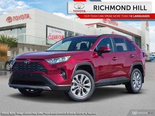 New 2020 Toyota RAV4 Limited  - Leather Seats -  Sunroof - $137.40 /Wk for sale in Richmond Hill, ON