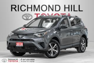 Used 2018 Toyota RAV4 *No Payments for 6 Months!!! - LE AWD for sale in Richmond Hill, ON