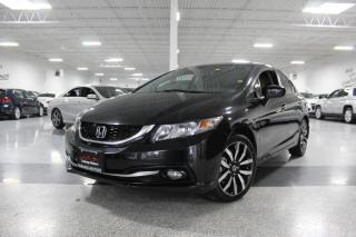 Used 2015 Honda Civic TOURING I NO ACCIDENTS I NAVIGATION I LEATHER I SUNROOF I BT for sale in Mississauga, ON