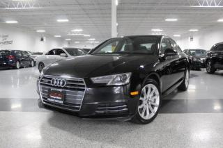 Used 2017 Audi A4 PROGRESSIV I NO ACCIDENTS I NAVIGATION I REAR CAM I SUNROOF for sale in Mississauga, ON