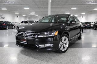 2013 Volkswagen Passat TDI I LEATHER I SUNROOF I HEATED SEATS I KEYLESS ENTRY I BT