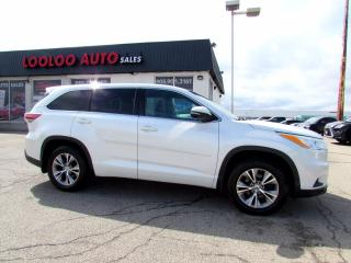 Used 2015 Toyota Highlander LE AWD 7 Passenger Camera Bluetooth Certified for sale in Milton, ON