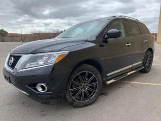 Used 2016 Nissan Pathfinder Pathfinder Platinum 4WD for sale in Brampton, ON