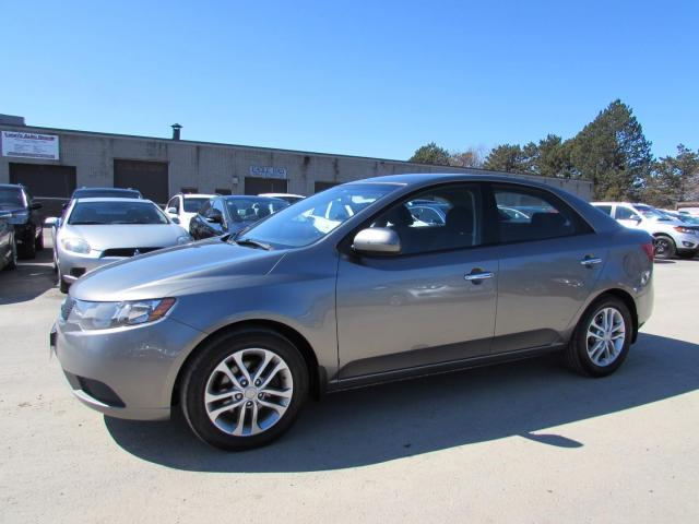 2012 Kia Forte EX CERTIFIED 2YR WARRANTY *1 OWNER*FREE ACCIDENT* BLUETOOTH HEATED ALLOYS AUX