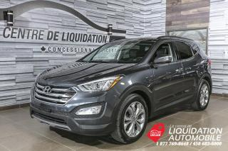 Used 2016 Hyundai Santa Fe Sport LIMITED+GPS+TOIT+AWD+CUIR+CAM/REC for sale in Laval, QC