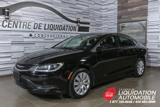 Used 2015 Chrysler 200 LX+GR/ELEC+A/C for sale in Laval, QC