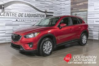Used 2015 Mazda CX-5 GS+CAM/REC+GPS+TOIT/OUV+MAGS+BLUETOOTH+GR/ELEC for sale in Laval, QC