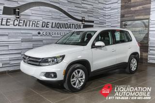 Used 2012 Volkswagen Tiguan 2.0TSI+MAGS+A/C+BLUETOOTH for sale in Laval, QC