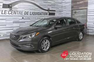 Used 2016 Hyundai Sonata GL+GR ELECTRIQUE+AIR CLIM+BANCS CHAUFFANTS+CAM/REC for sale in Laval, QC