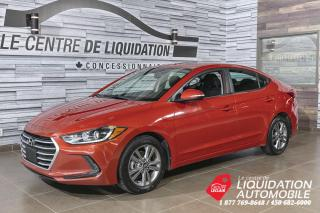 Used 2017 Hyundai Elantra GL+MAGS+A/C+CAM/REC+BLUETOOTH for sale in Laval, QC