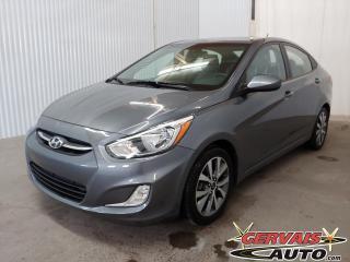 Used 2017 Hyundai Accent SE Toit Ouvrant A/C Bluetooth Sieges Chauffants *Bas Kilométrage* for sale in Trois-Rivières, QC