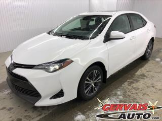 Used 2018 Toyota Corolla LE MAGS TOIT SIÈGES CHAUFFANTS CAMÉRA DE RECUL for sale in Shawinigan, QC