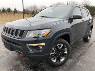 Used 2018 Jeep Compass Trailhawk 4WD for sale in Cayuga, ON