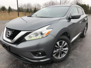 Used 2016 Nissan MURANO SV 2WD for sale in Cayuga, ON