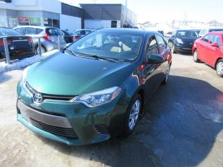 Used 2015 Toyota Corolla 4dr Sdn  LE, SIEGES CHAUFFANTS for sale in Beauport, QC