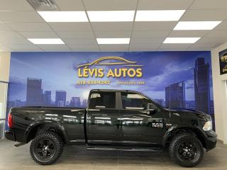 Used 2017 RAM 1500 OUTDOORSMAN 5.7L HEMI 8 VITESSES GPS/ÉCR for sale in Lévis, QC