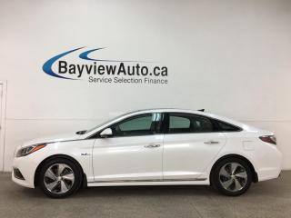 Used 2017 Hyundai Sonata Hybrid Limited - AUTO! PANOROOF! HTD LTHR! NAV! + MORE! for sale in Belleville, ON