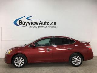 Used 2015 Nissan Sentra 1.8 SV - AUTO! NISSAN CONNECT! REVERSE CAM! ALLOYS! + MORE! for sale in Belleville, ON