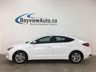 Used 2020 Hyundai Elantra Preferred w/Sun & Safety Package - AUTO! HTD SEATS! SUNROOF! REVERSE CAM! + MORE! for sale in Belleville, ON